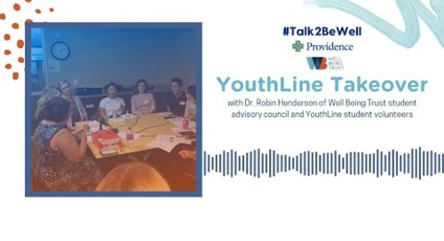 Talk2BeWell: YouthLine Takeover