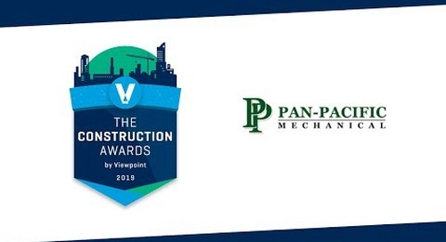 Most Innovative Use of Technology Winner - Pan Pacific Mechanical