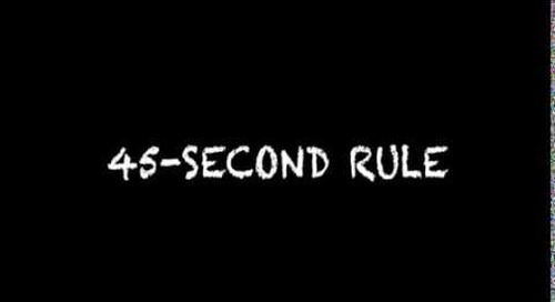 45 Second Rule with Captions