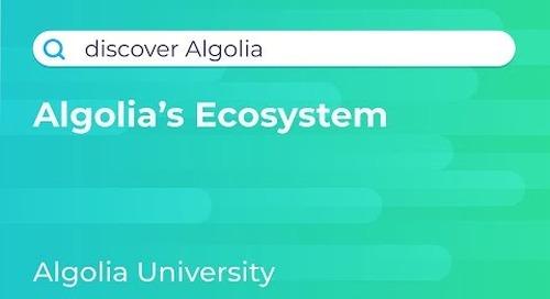 Discover Algolia #2 - Ecosystem