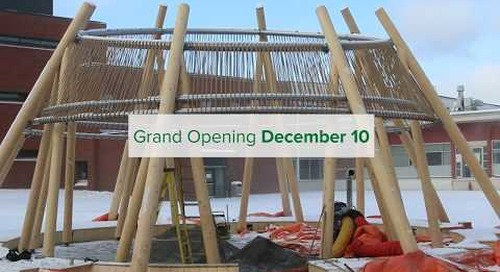Algonquin College Courtyard Grand Opening and Naming Announcement