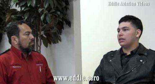 Entrevista a estudiante de piloto aviador de El Salvador