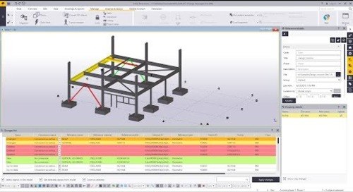 IFC Change Management in Tekla Structures