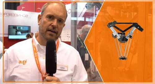 New! delta robot from igus® at IMTS 2018