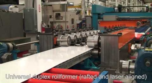 Samco Machinery Automotive Panel & Cut-to-Length Rollforming Line