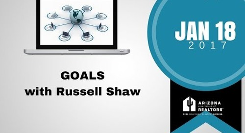 Goals with Russell Shaw 1.18.2017