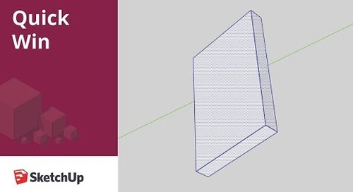 [Quick Win] How to rotate non-orthogonal geometry