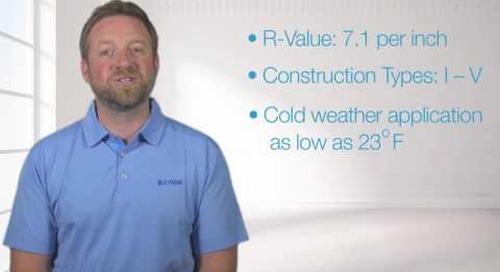 Icynene Spray Foam Insulation: ProSeal