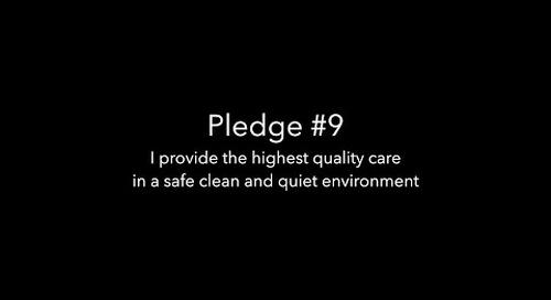 Providence Mission Hospital Pledge #9