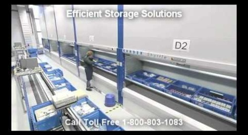 Space Saving Automated Storage for Tool Cribs & Production Line Productivity