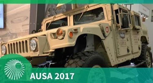 AUSA 2017: Meritor Defense Humvee Enhanced Mobility Upgrade