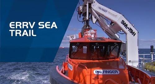 PALFINGER BOATS & PALFINGER MARINE Davit Systems – ERRV Sea trail