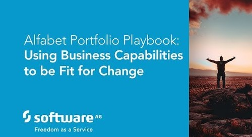Alfabet Portfolio Playbook: Using Business Capabilities to be Fit for Change