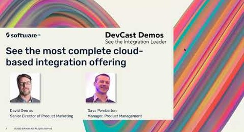 See the Most Complete Cloud-Based Integration Offering