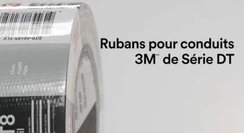 Rubans pour conduits 3M de Série DT
