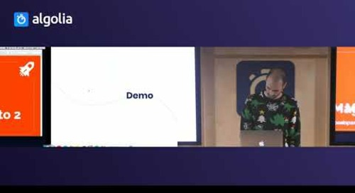 Searching the MDN Web Docs with Algolia - Clément Denoix