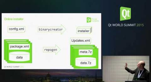 QtWS15- Get to know the Qt Installer Framework, Kai Köhne, The Qt Company