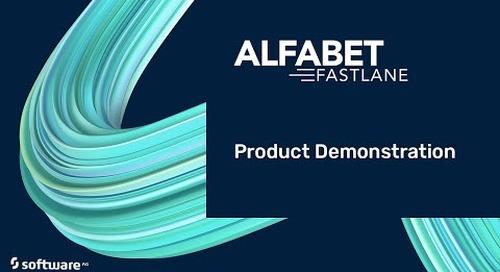Software AG's Alfabet FastLane Product Demonstration