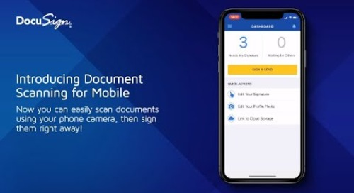Introducing Document Scanning for Mobile Apps