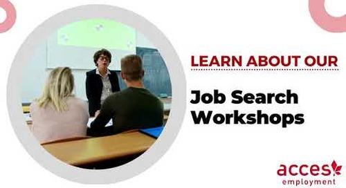 Job Search Workshop Program at ACCES