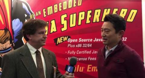 "Embedded World 2016 Video: Azul Systems, the ""kings of Java"" for embedded"