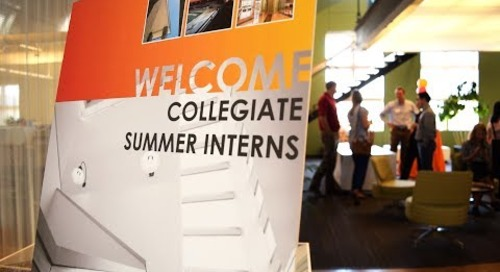 Welcoming our 2017 interns