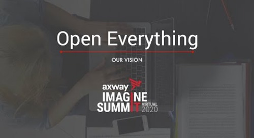 Our vision: Open Everything | IMAGINE SUMMIT 2020 Virtual Recap