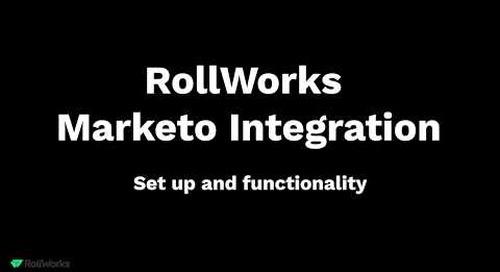 RollWorks + Marketo Integration Demo