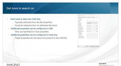 Searching Effectively in Autodesk Vault