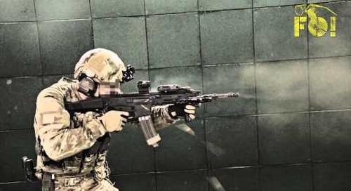 Frag Out! FULL AUTO MSBS MSBS-5,56 Next Gen Assault Rifle & Surefire 60 Round Mag