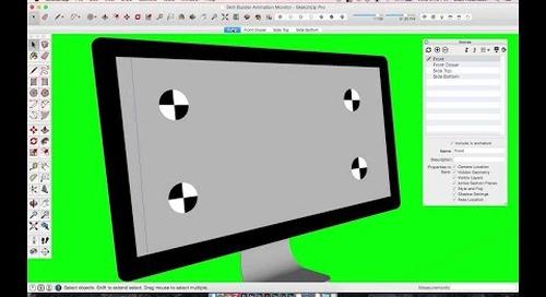 [Skill Builder] Motion Graphics Monitor Animation