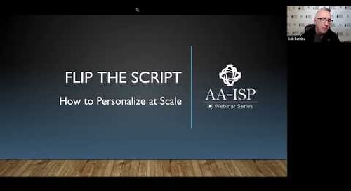 How to Personalize at Scale - AA-ISP Webinar (ft. Becc Holland)