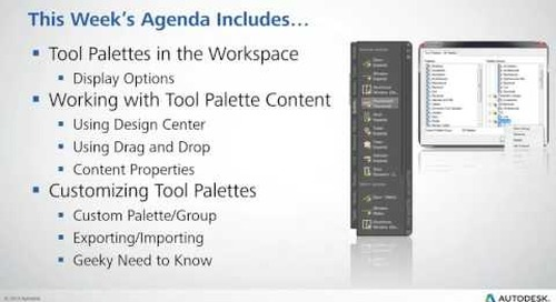 Beyond the Basics: Working with Tool Palettes in AutoCAD 2016