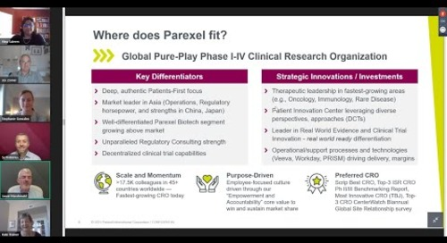 The Future is Now  Managing Clinical Trials in an Evolving Industry