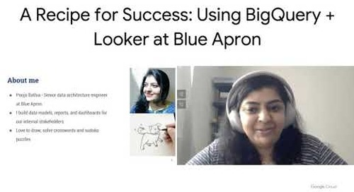 A Recipe for Success: Using Google BigQuery + Looker at Blue Apron