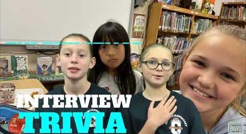 Columbia Elementary News Crew Follett Challenge
