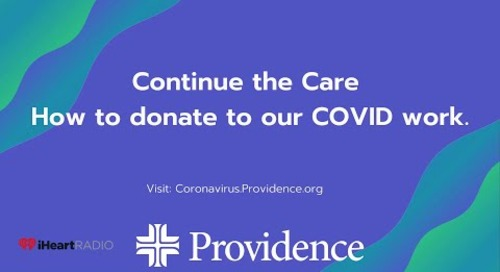 Continuing the Care: How to donate to our COVID work