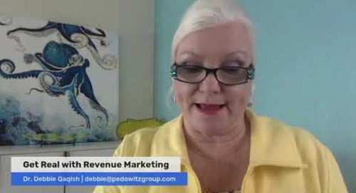 6 Characteristic of MOPs and Revenue Marketing  - Dr. Debbie Qaqish