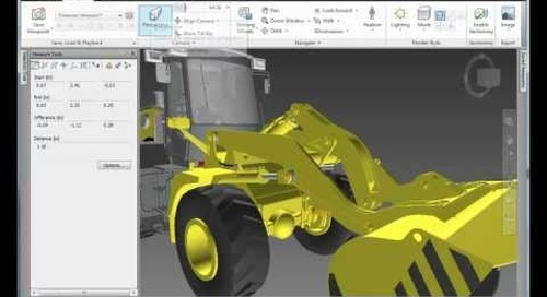 Product Design Suite: Navisworks Simulate for Manufacturing w/ Inventor