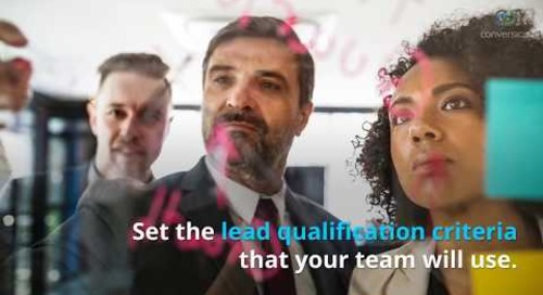 Lead Qualification for Quality, Not Quantity