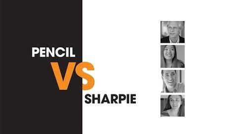 A Timeless Question—Pencil vs Sharpie