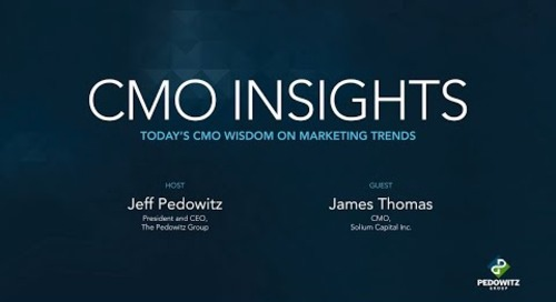 CMO Insights: James Thomas, CMO of Solium Capital Inc.