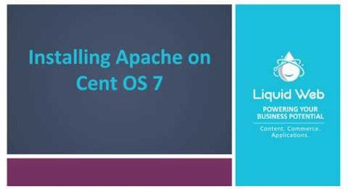 How to Install Apache on CentOS 7