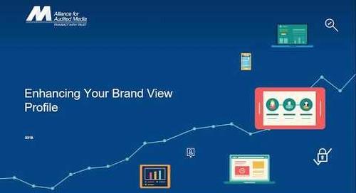 Enhancing Your AAM Brand View Profile [webinar]