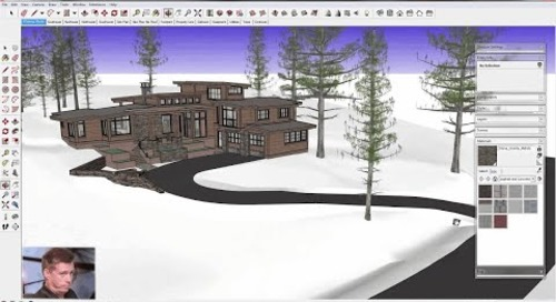 SketchUp for Construction Documentation: Site Plan Model
