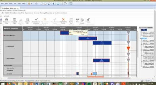 Q&A Series: How do I split a task across resources using Netronic Visual Scheduling in Dynamics NAV
