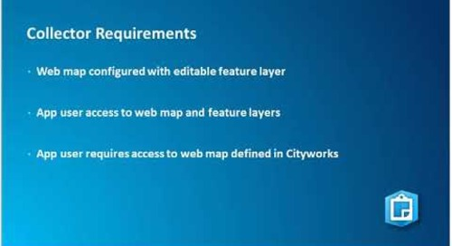 Mobilize your Organization: Cityworks and Esri Mobile App Integration