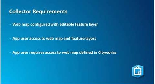 Mobilize your Organization: Cityworks and Esri Mobile App Integration