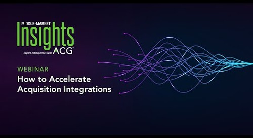 Accelerating Acquisition Integrations | Best Practices from Allied Universal