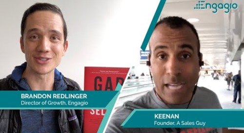 Gap Selling  with Keenan  |  Engagio